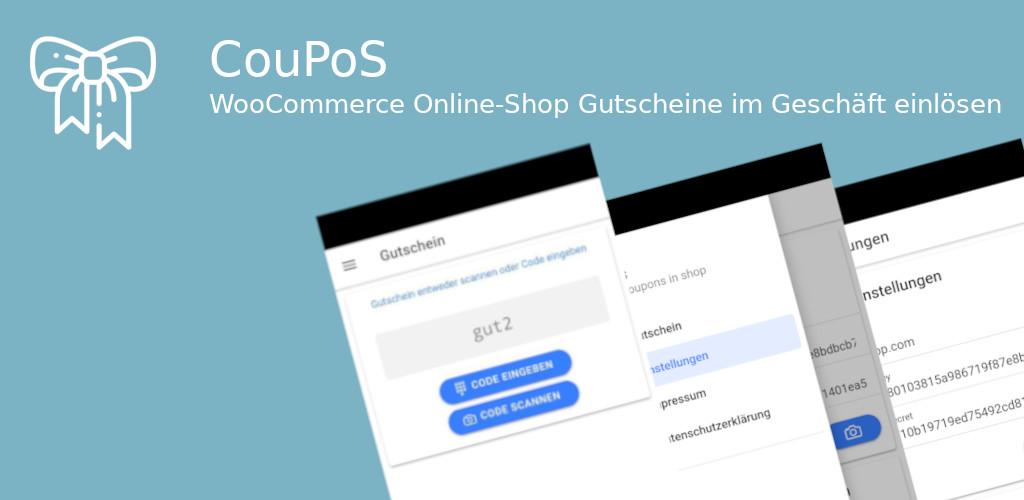 CouPoS – Onlineshop-Gutscheine lokal einlösen